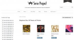 Serie Project Print Shop