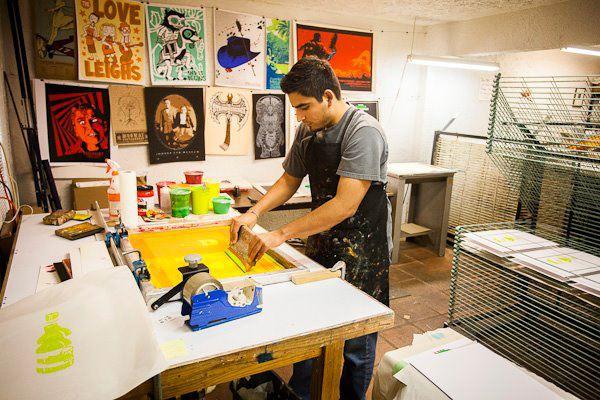 Jonathan Rebolloso - Screen Printing
