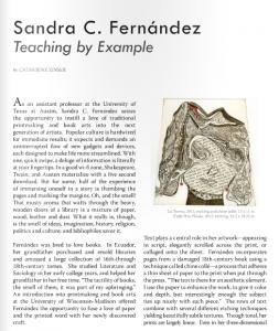 Aether Magazine - Issue Three - Fall/Winter 2012 - Sandra C. Fernandez